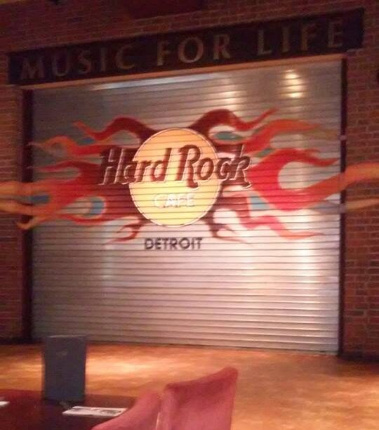 Photo of the Hard Rock Cafe Stage